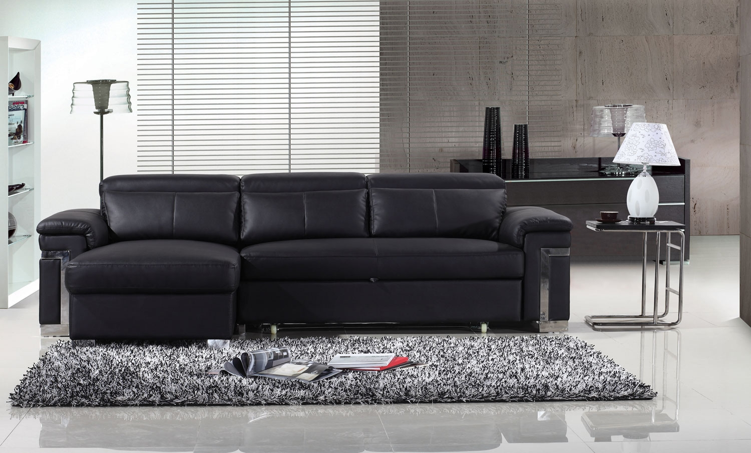 dual reclining sofa slipcover wall bed canada how to clean your black leather sofa?
