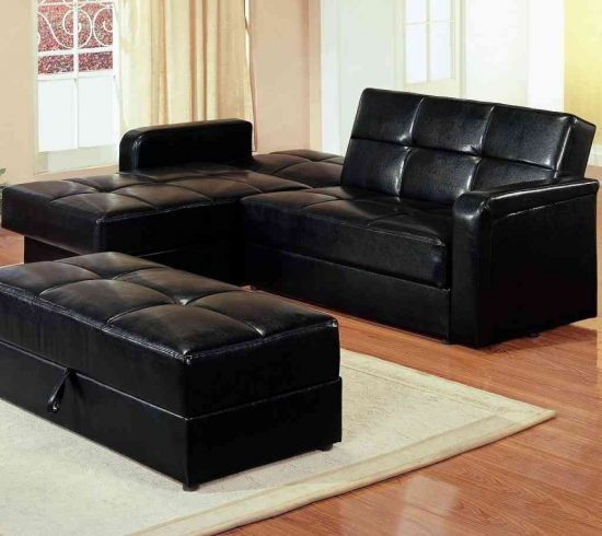 Twin sofa bed elegant choice for small spaces