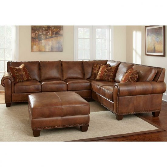tan leather couch living room gray sets how to choose the best sofa size that fit your ...
