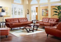 Light colored leather sofas  a bright vibe in 2018 trendy ...