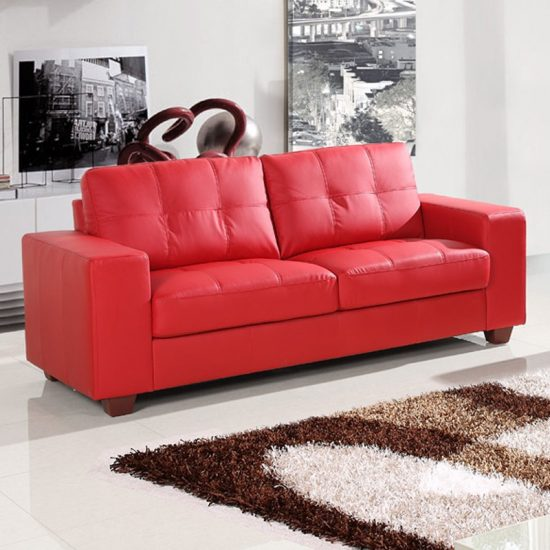 loveseat sleeper sofa leather stretch and slipcovers small red sofas for vibrant living area in 2018