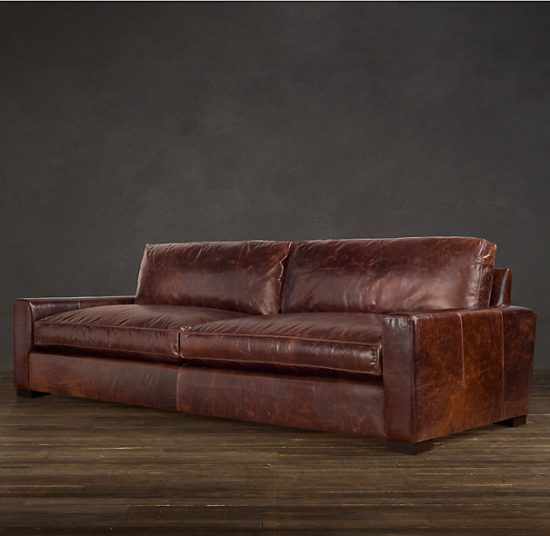 Soft leather sofas for a maximum comfy and stylish living