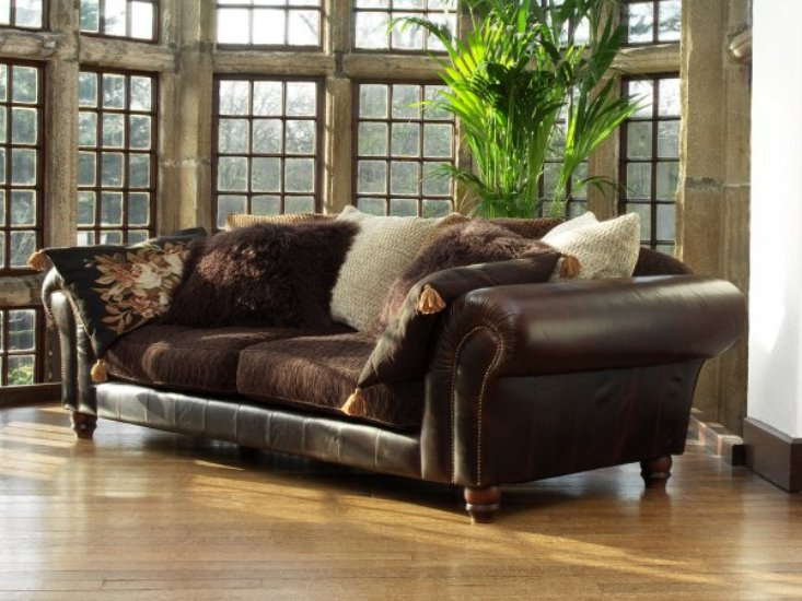 Leather Sofa  Fabric Sofa  Reasons to Fall in Love with Both