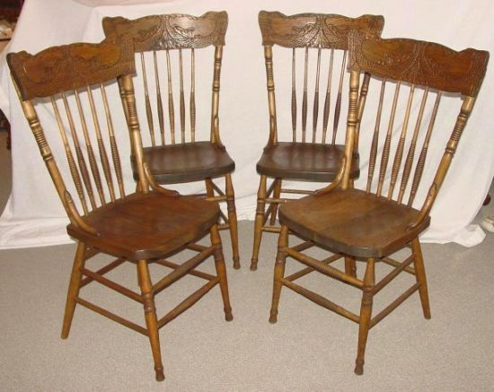 Antique Press Back Chair Designs You Will Admire