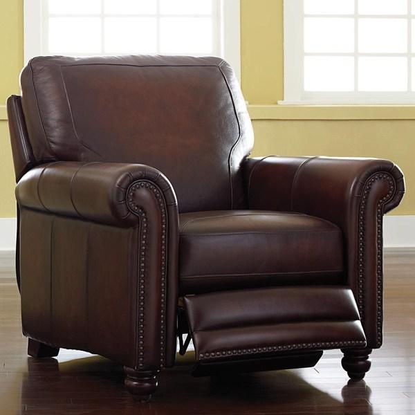 Bassett Furniture Leather Recliner Chair