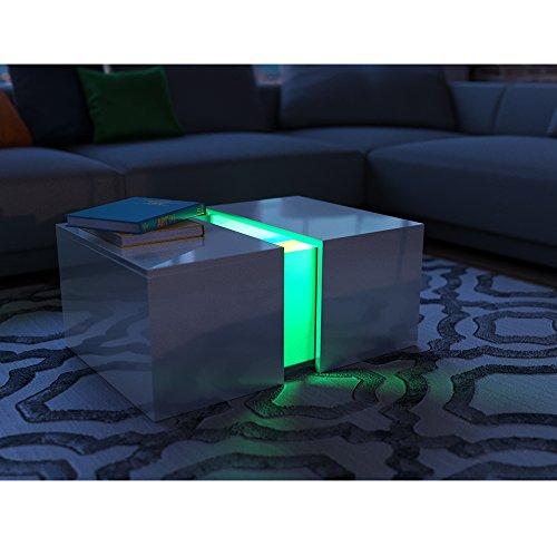 Couchtisch beleuchtet mit LED
