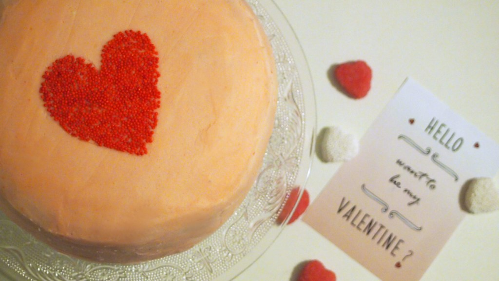 OmbreTorte_Valentinstagskuchen