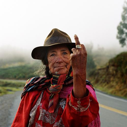 Eleveur(se),  Lima-Cusco, Pérou. 2011