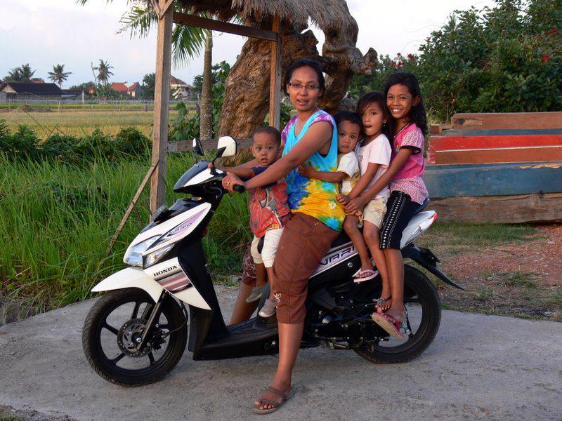 Conduire moto a bali