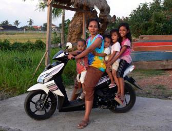 Conduire en scooter à Bali