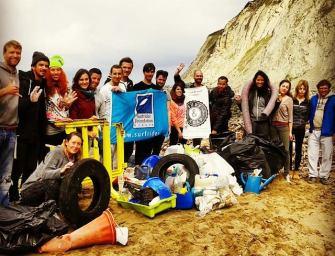 Camp de surf organisé par Surf & Help à Barrika