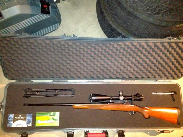 Sold.7mm Remington Magnum Ruger M77 Mark Ii With