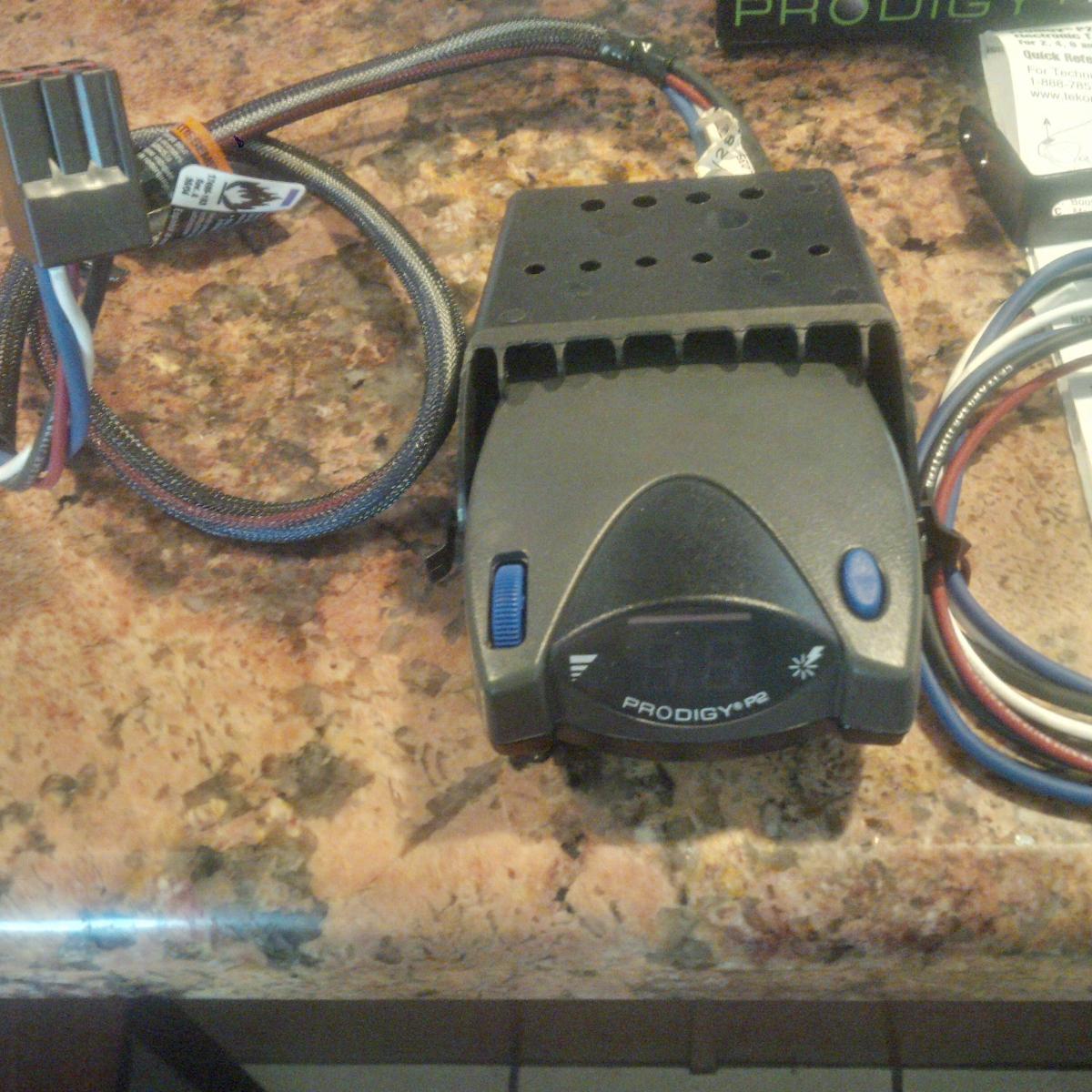 prodigy brake genie wiring diagram p2 trailer controller classified ads
