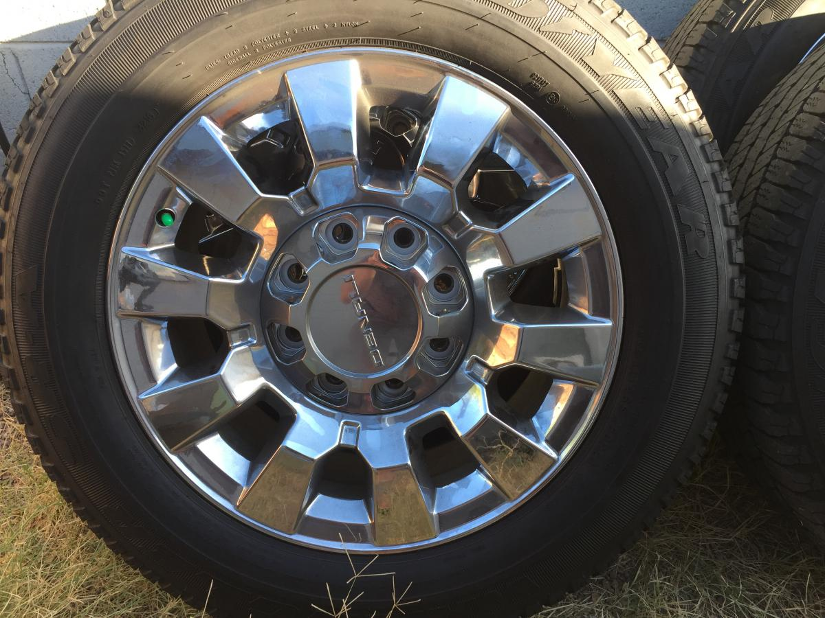 Gmc Sierra 2500hd 20 Denali Wheels And Tires Classified