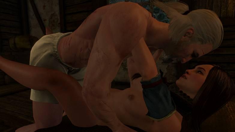 Romances dans Witcher 3 avec les prostituées 2