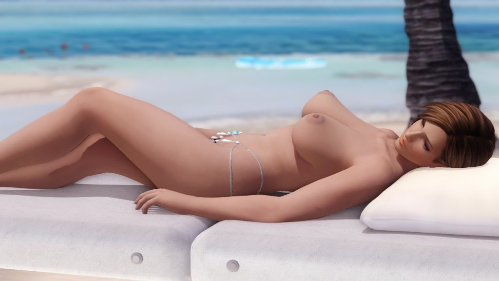 Dead or Alive 5 - Nude Mod - Beach Paradise 19