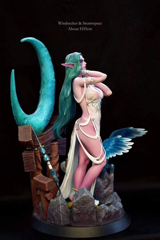 Tyrande Murmevent nue - World of Warcraft hentai 03