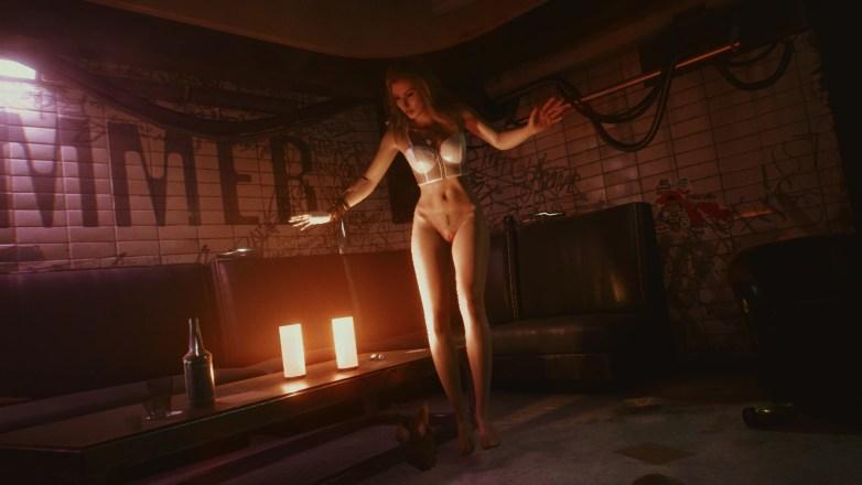 Alt Cunningham nue dans Cyberpunk 2077 01