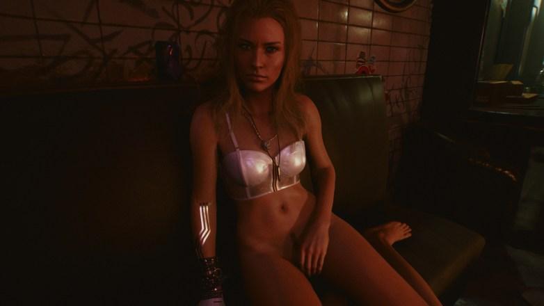 Alt Cunningham nue dans Cyberpunk 2077 05