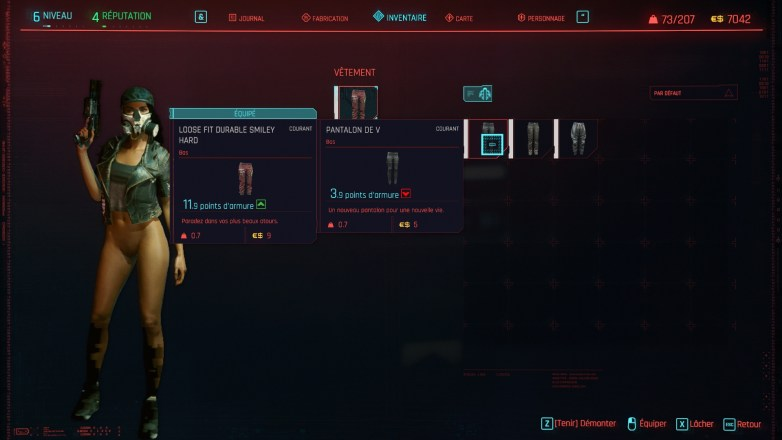Bug Nudité Cyberpunk 2077 03