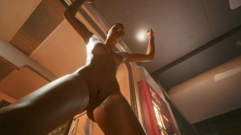Nudité frontale Cyberpunk 2077 11