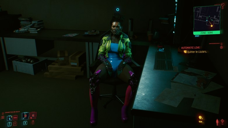 PNJ sexy dans Cyberpunk 2077 04