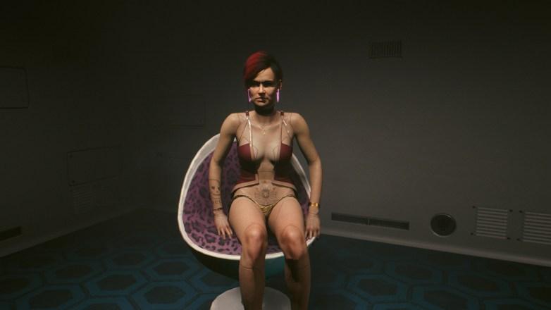PNJ sexy dans Cyberpunk 2077 05
