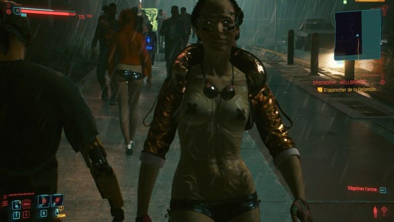 PNJ sexy dans Cyberpunk 2077 07
