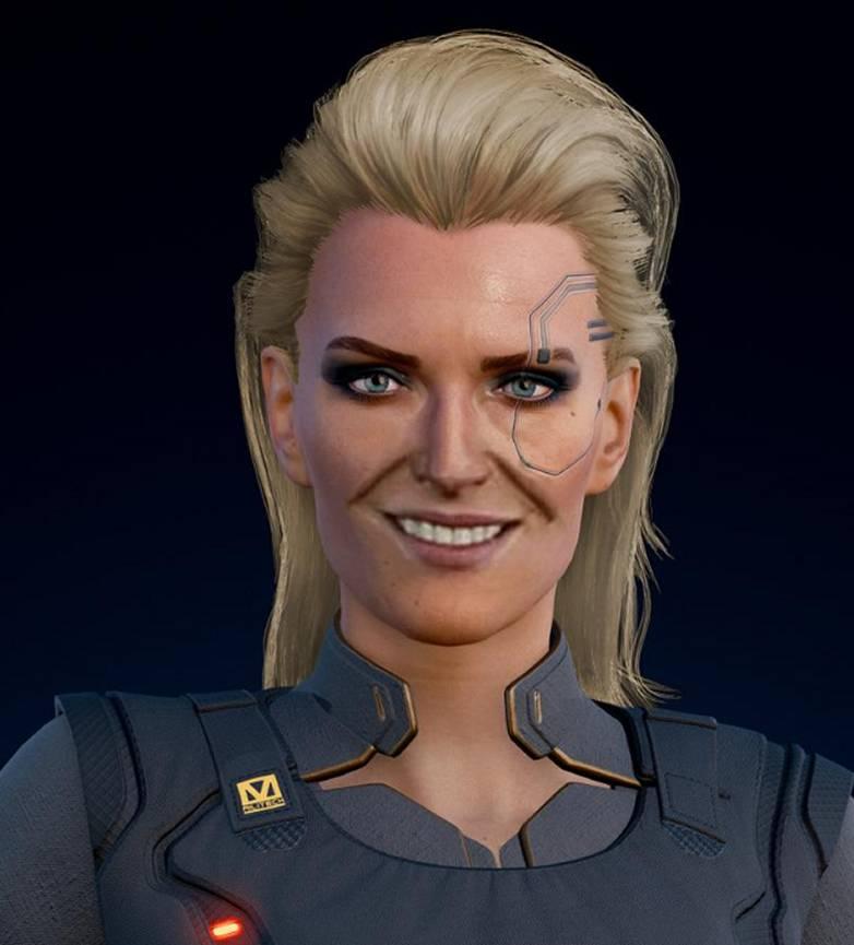 Portrait Meredith Cyberpunk