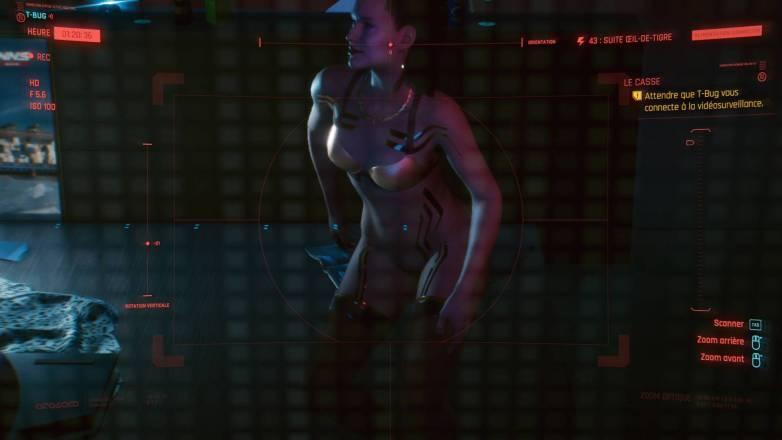 Sexe et voyeurisme dans Cyberpunk 2077 09