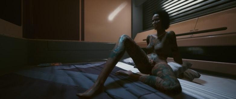 V version porno dans Cyberpunk 2077 22