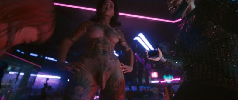 V version porno dans Cyberpunk 2077 33