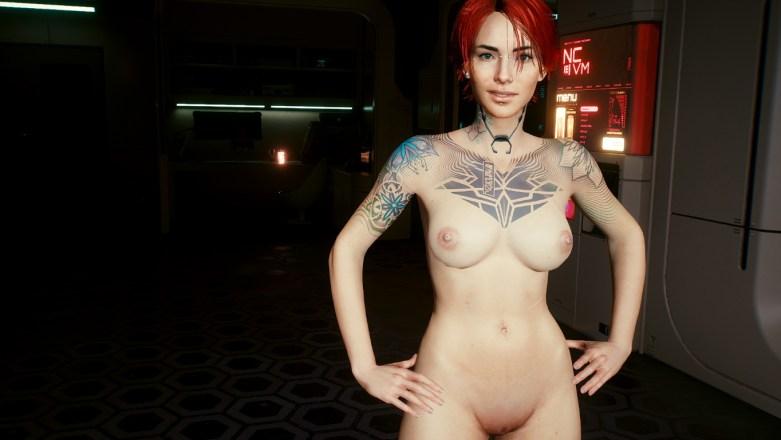 V version porno dans Cyberpunk 2077 45