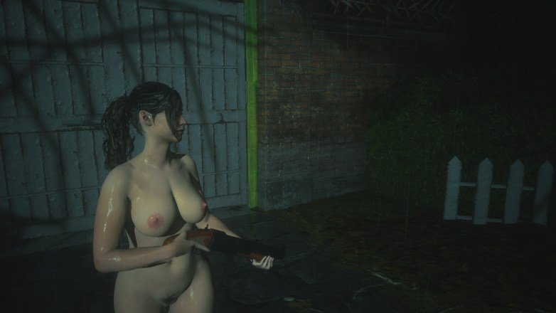Claire Redfield - Nude Patch Curvy 10