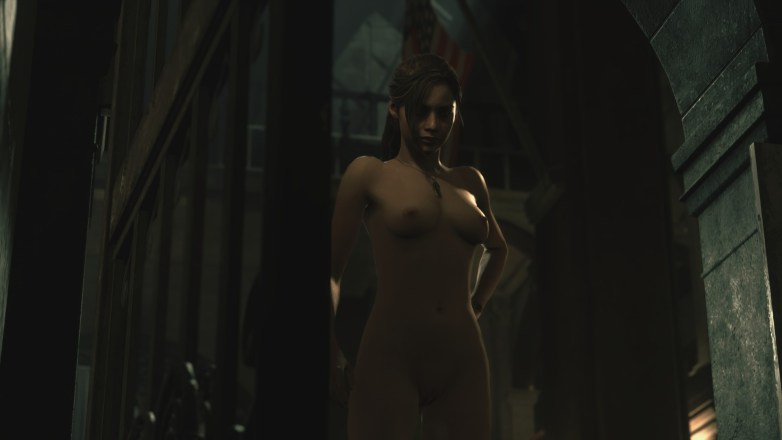 Claire Redfield - Nude Patch Resident Evil 2 Remake 18