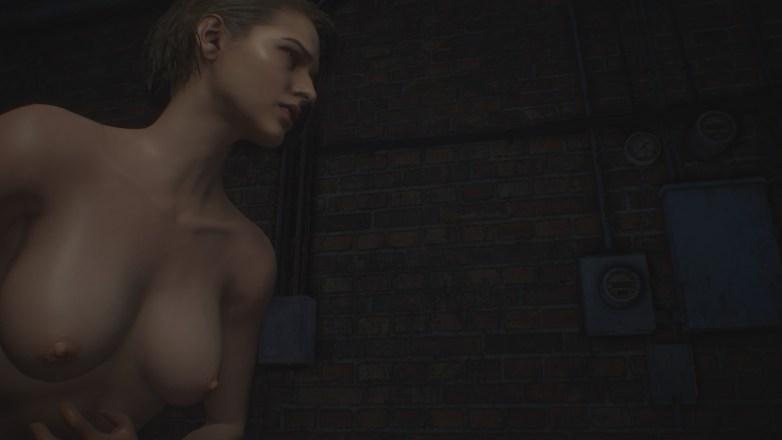 Jill Valentine nue dans Resident Evil 3 Remake 035