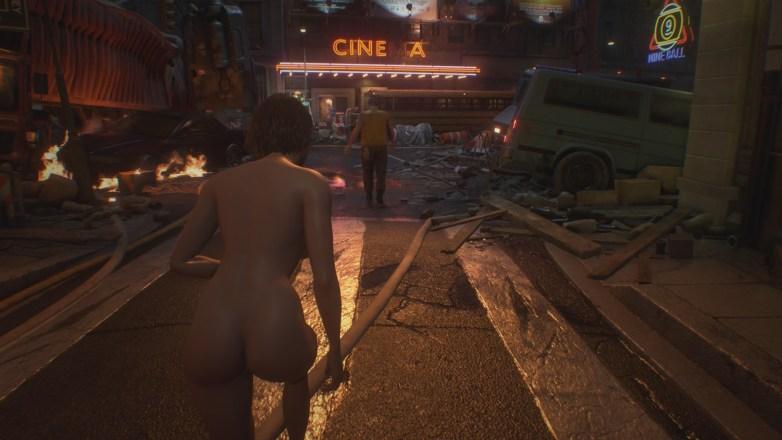 Jill Valentine nue dans Resident Evil 3 Remake 036