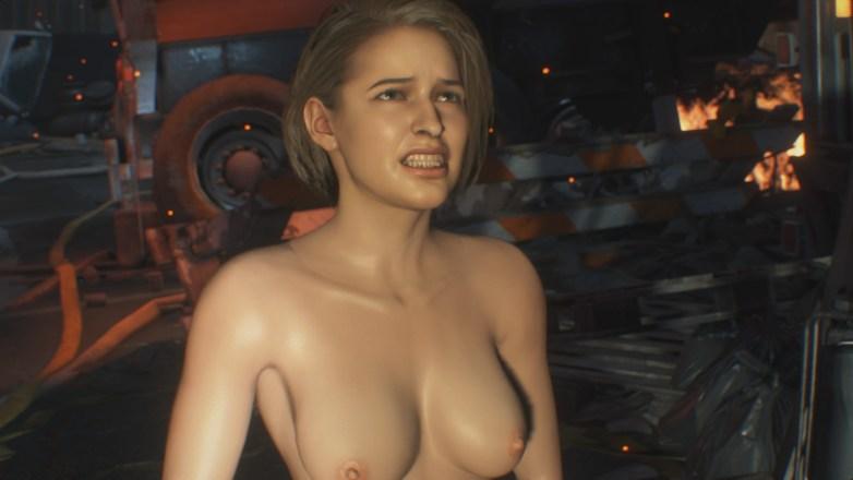 Jill Valentine nue dans Resident Evil 3 Remake 037