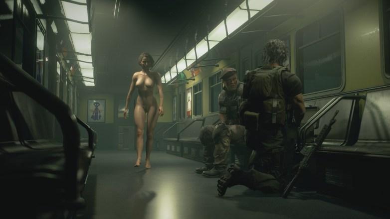 Jill Valentine nue dans Resident Evil 3 Remake 063