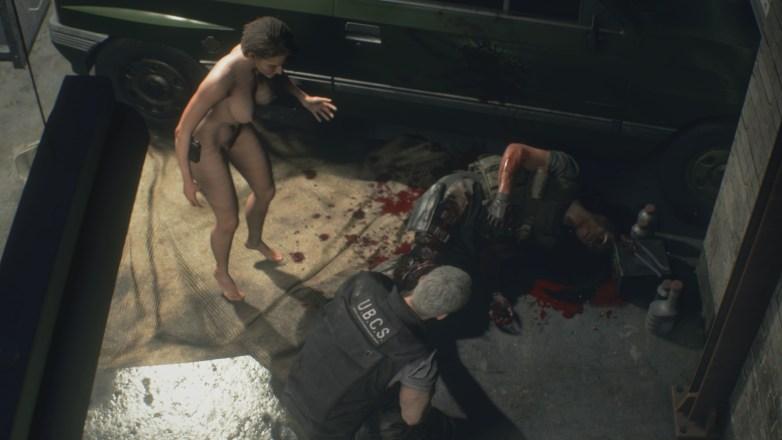 Jill Valentine nue dans Resident Evil 3 Remake 073