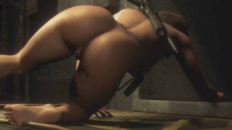 Jill Valentine nue dans Resident Evil 3 Remake 084