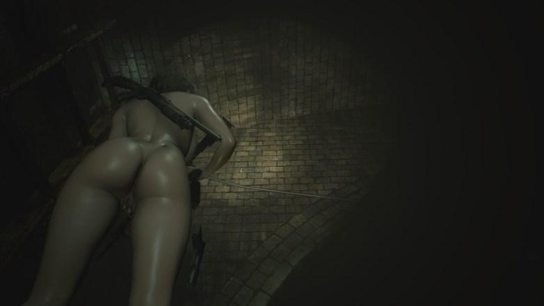 Jill Valentine nue dans Resident Evil 3 Remake 086
