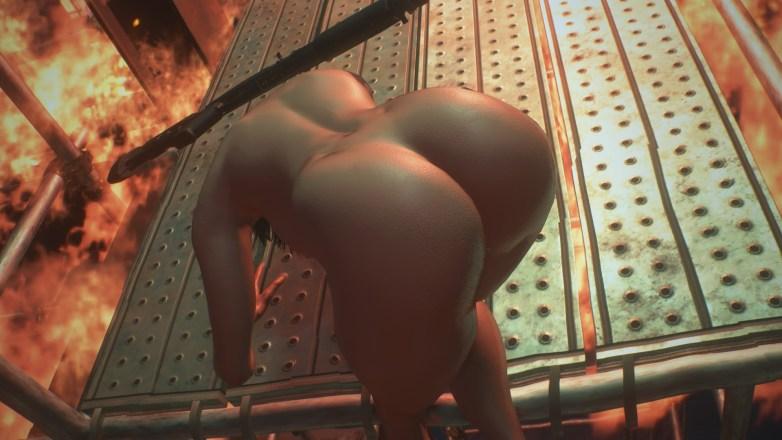 Jill Valentine nue dans Resident Evil 3 Remake 089