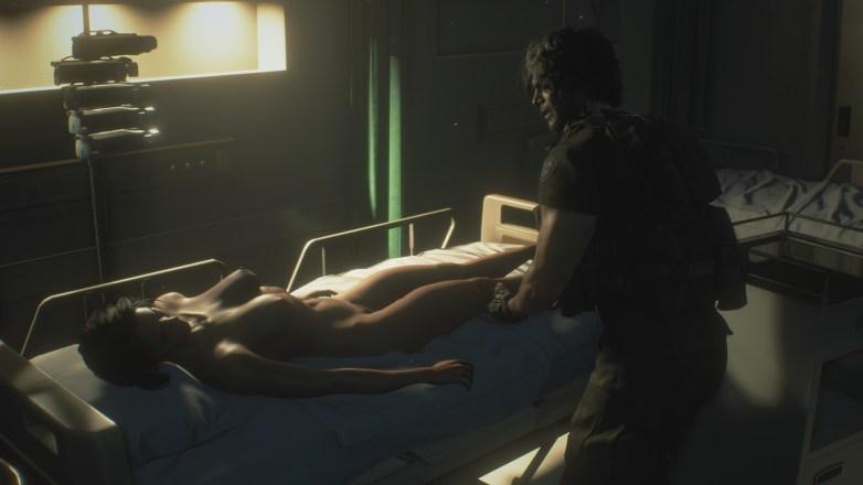 Jill Valentine nue dans Resident Evil 3 Remake 121