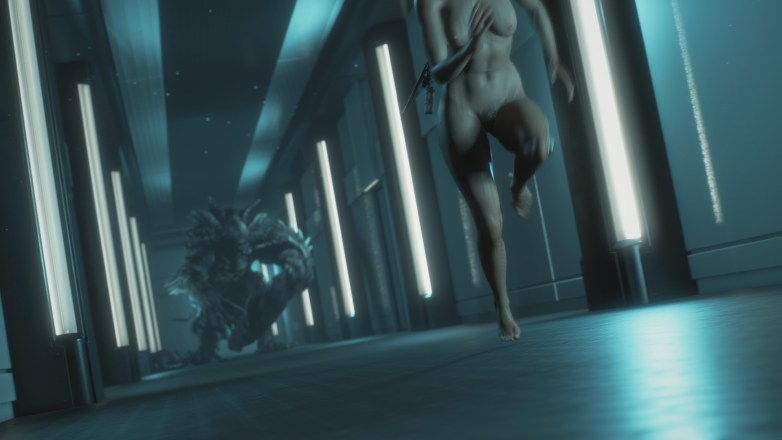 Jill Valentine nue dans Resident Evil 3 Remake 131
