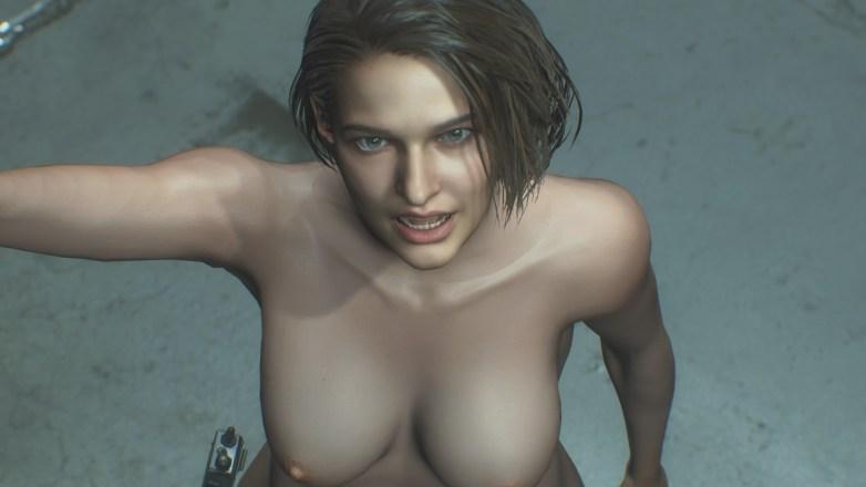 Jill Valentine nue dans Resident Evil 3 Remake 149