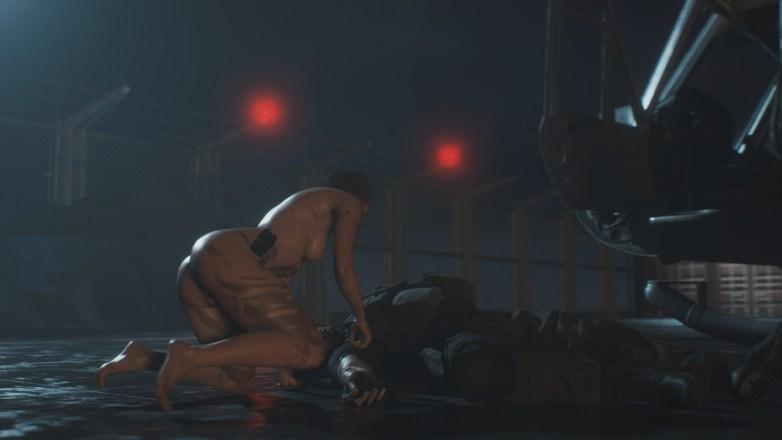 Jill Valentine nue dans Resident Evil 3 Remake 152