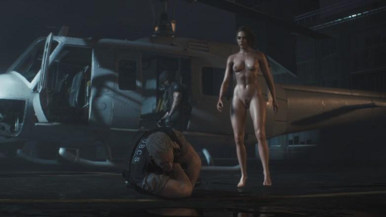 Jill Valentine nue dans Resident Evil 3 Remake 154