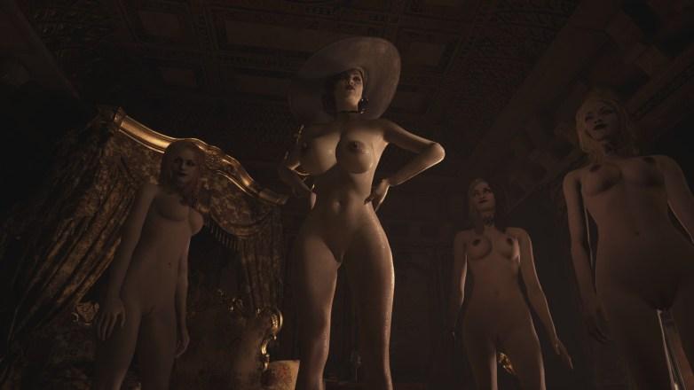 Alcina Dimitrescu nue dans Resident Evil Village 01