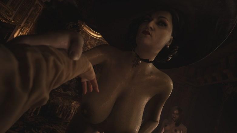 Alcina Dimitrescu nue dans Resident Evil Village 04
